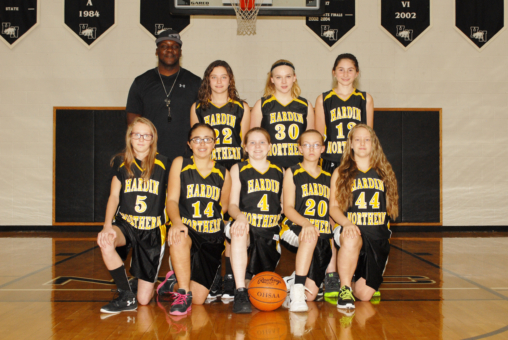 JH 7th Girls BKB 2016