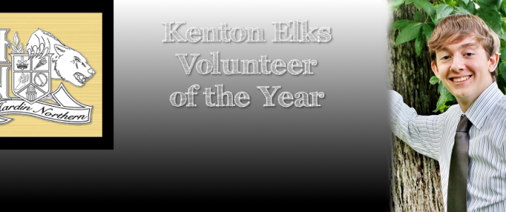 Kenton Elks Volunteer of the Year