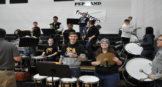 Pep Band: Noisy, But In A Good Way!