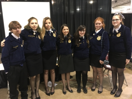 FFA Convention Students