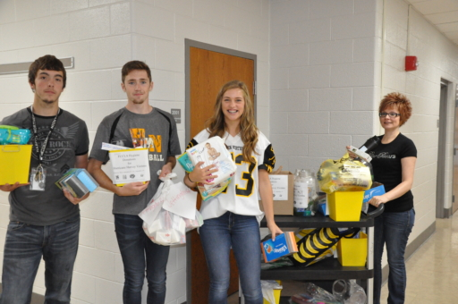 FCCLA Hurricane Donations 2