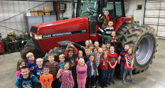 1st Graders Learn About Harvest Season