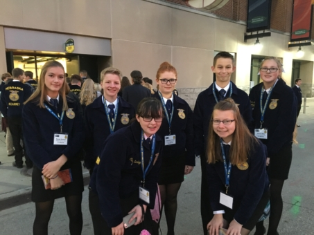 HN FFA Attends National Convention