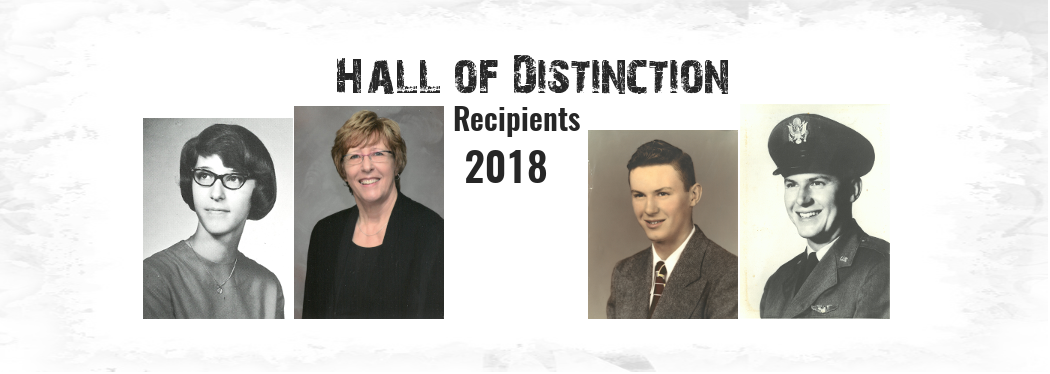 Hall of Distinction Recipients for 2018