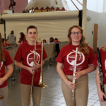 Students participated in OMEA's District III Honors Band Festival