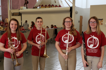 OMEAs District III Honors Band Festival
