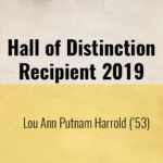 Hall of Distinction Recipient for 2019