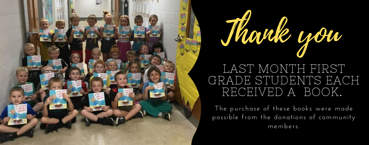 first grade students each received a book