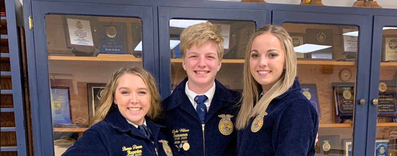 HN FFA Competes in Job Interview CDE