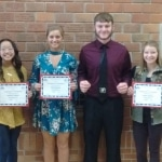 October and November Teens of the Month!