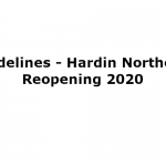 Guidelines - Hardin Northern Reopening 2020